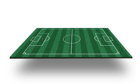 photo realism: football field 3d