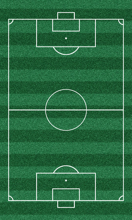 photo realism: football field