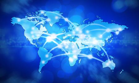 map world  Stock fotó