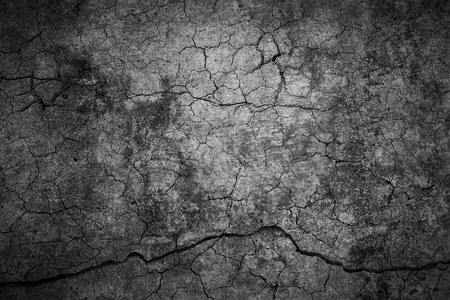 Cracked cement background