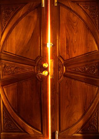 light door Stockfoto