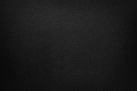 black leather texture background Standard-Bild