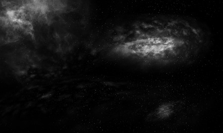 starfield: Dark galaxy background