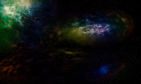 starfield: Galaxies beautiful fantasy.