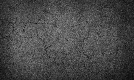 asphalt crack Stockfoto