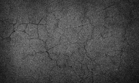 asphalt texture: asphalt crack Stock Photo