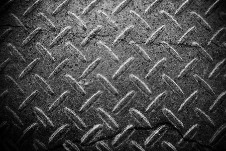 diamondplate: Crack steel background