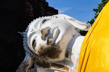 cabeza de buda: Dormir cabeza de Buda
