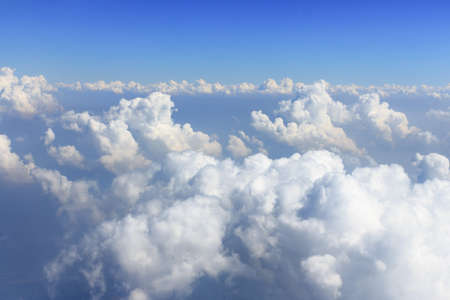 cumulus: Blue sky and white cloud