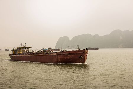 halong: Halong Bay,Vietnam Stock Photo