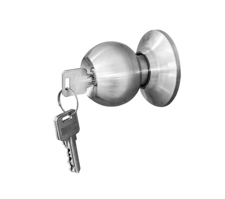 door knob: Door knob locks with keys isolate