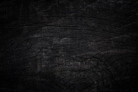 fondo di struttura di legno nero