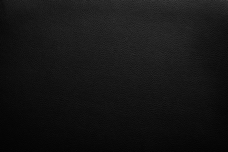 Luxury black leather texture background Archivio Fotografico