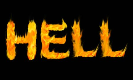 hell fire: Letters Hell Fire
