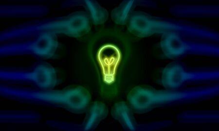 contemplate: concept digital power