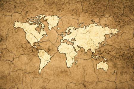 drought: global drought concept
