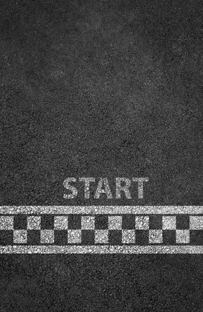 Start line racing background