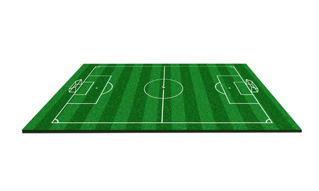 photo realism: football field 3d