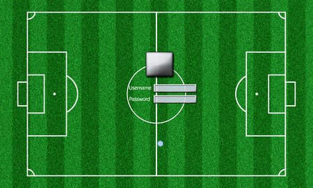 soccer pitch: football field login