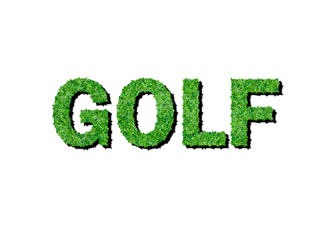 The Word Golf Symbol For Ecology Stock Photo Picture And Royalty