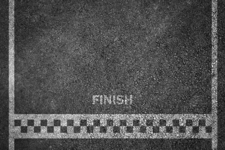 Finish line racing background