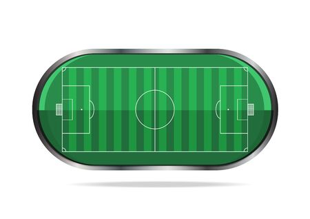 soccer background: football soccer sport application icon Stock Photo