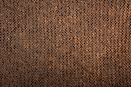 mesh: Rust metal mesh background