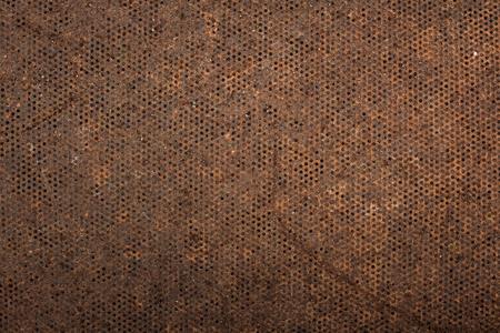 malla metalica: Óxido de fondo de malla metálica