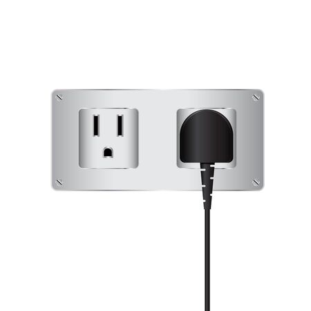 amperage: Electric plug and outlet
