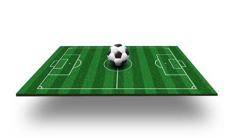 football field 3d