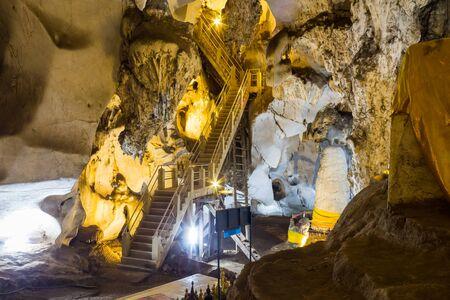 caving: Muang On Cave Chiang Mai, Thailand.