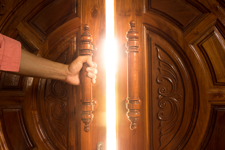 open door light Reklamní fotografie