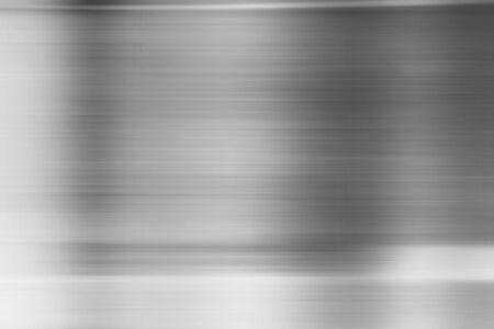 Texturhintergrund aus Metall, Edelstahl Standard-Bild