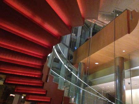 zuma: Staircase @ Zuma restaurant in Hong Kong