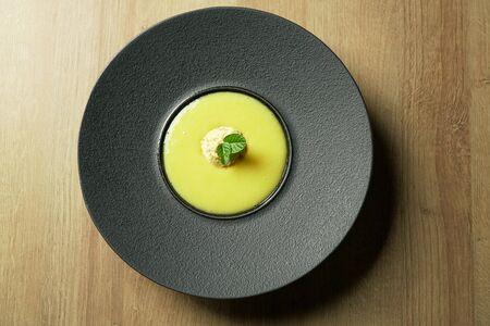 Dessert on a restaurant table Archivio Fotografico - 137783590