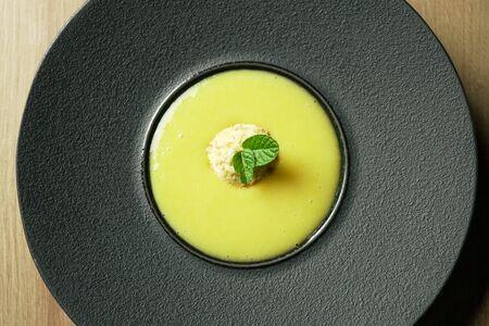 Dessert on a restaurant table Archivio Fotografico - 137786269