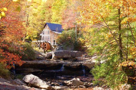 west virginia: Glade Creek Mill, West Virginia