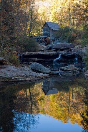 west virginia trees: Glade Creek Mill