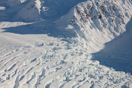 Glaciers Edge Stock fotó