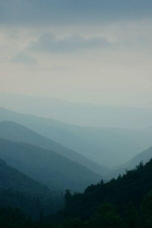 Hazy Smokey Mountains