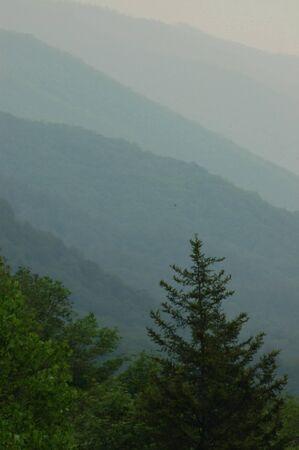 Smokey Mountains Фото со стока
