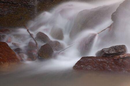 cascade: Bottom Of The Cascade Stock Photo