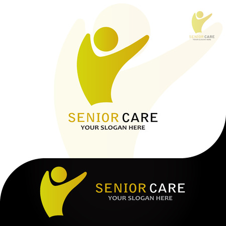This logo has an image of an elderly man. This logo is good for use by companies or foundations that are engaged in the field of humanity, especially the care of elderly people. But this logo can also be used as an application logo and various other businesses as needed.