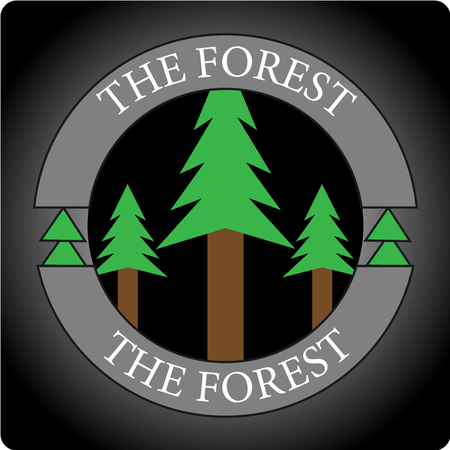 This logo has a tree. This logo is suitable for use by the community of nature lovers or various businesses engaged in forest and environmental conservation.