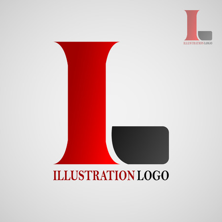 This logo has the letter I and L. This logo is good for use by a company that wants its logo to be an initial logo or a company engaged in graphic design.