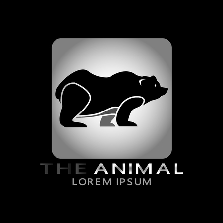 This logo has an animal image. This logo is good for use by companies or businesses related to children's toys. Illustration