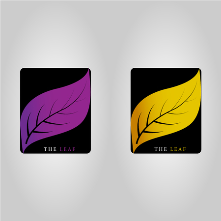 This logo has a leaf. This logo is good to use as a company logo or can also be used as an application logo.