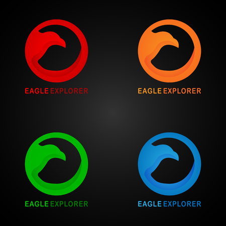 This logo has a picture of an eagle. This logo is in 3D. This logo is good to use as a company logo or can also be used in the travel business, but can also be used in application logos, such as browser applications and various other creative businesses as needed.