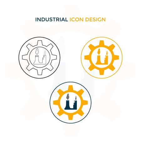 This icon is made for companies or businesses engaged in the industry. But it can also be used in various other creative businesses as needed.