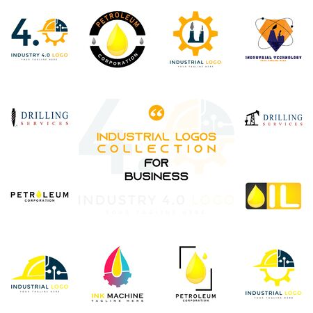 This logo is made for companies or businesses engaged in the industry. But it can also be used in various other creative businesses as needed.